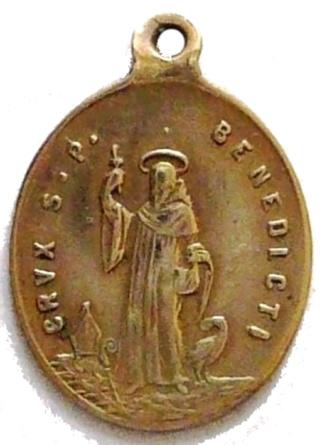 Medallas de S Benito St_be111
