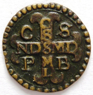 Medallas de S Benito St_be113