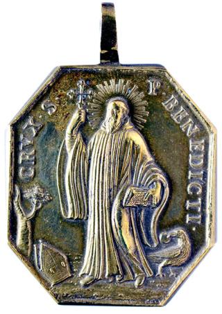Medallas de S Benito St_ben77