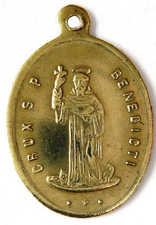 Medallas de S Benito St_ben79