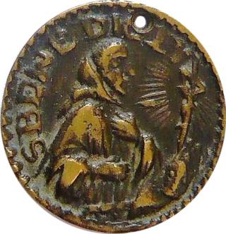Medallas de S Benito St_ben85