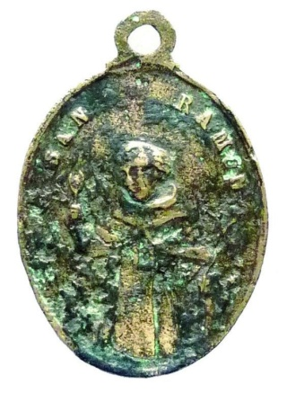 San Ramón Nonato - Emblema Orden de la Merced XVII St_ram18