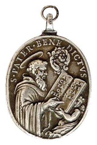 Medallas de S Benito St_sil14