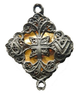 Cruz de San Ulrico en filigrana Sv_a10