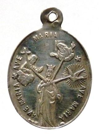 Interesante medalla mariana contra Satanás. Principios siglo XX. Trois_11