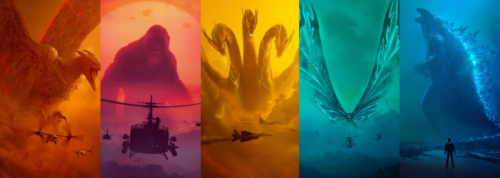 [Warner / Legendary] Saga Godzilla (2014, 2019, 2020)  9nk4bg10