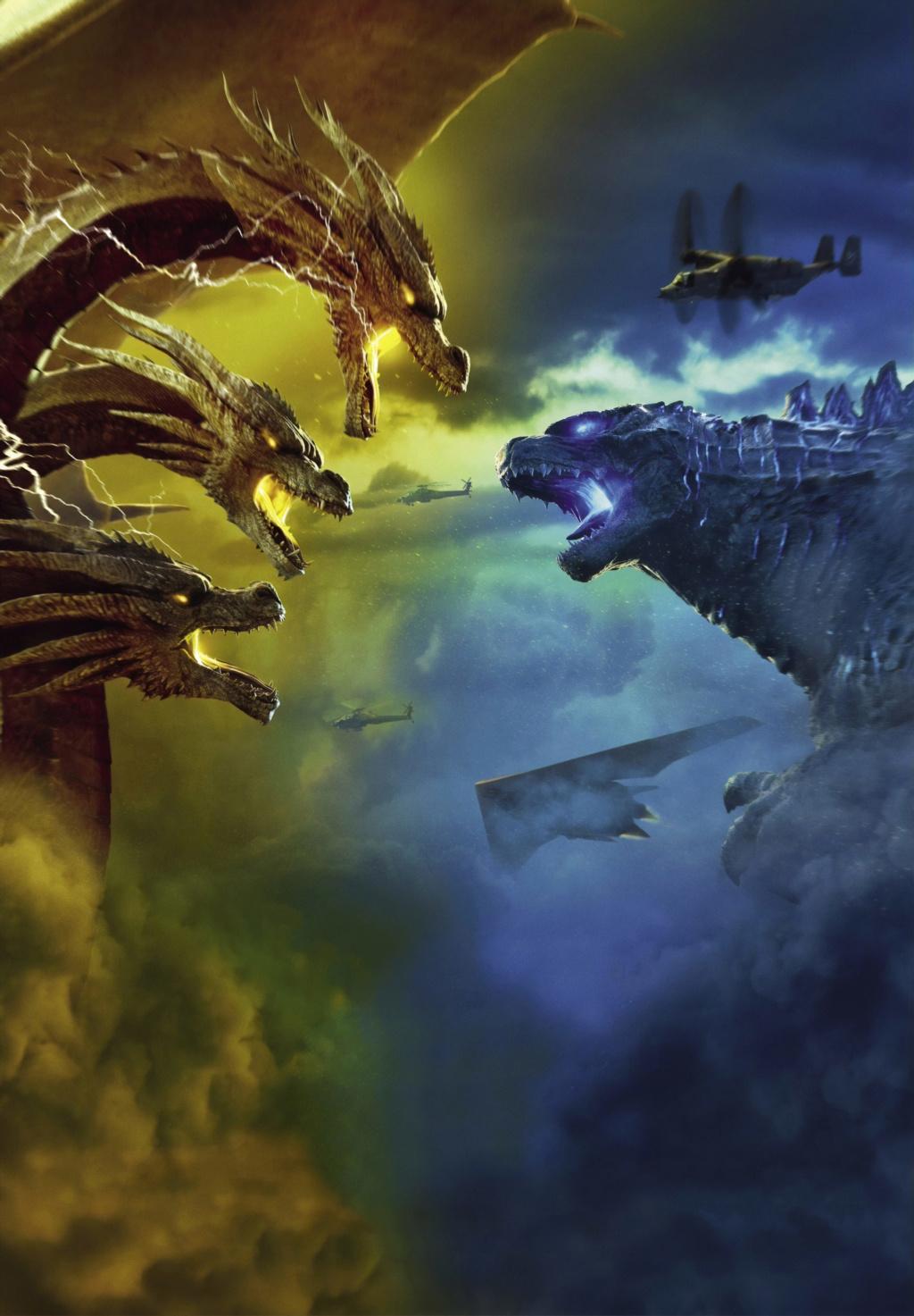 [Warner / Legendary] Saga Godzilla (2014, 2019, 2020)  Wallpa11