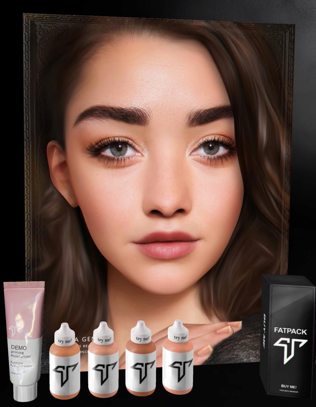 [Mixte] Tres beau makeup Zziod253