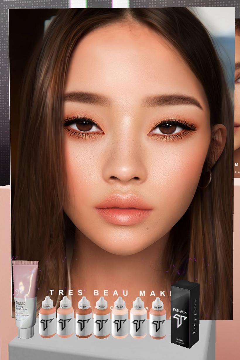 [Mixte] Tres beau makeup Zziod310