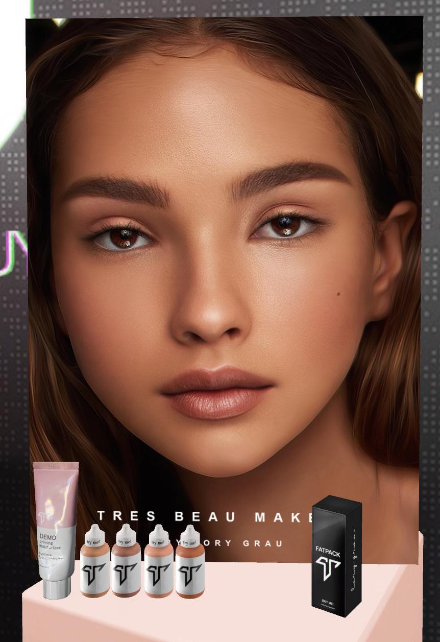 [Mixte] Tres beau makeup Zziod311