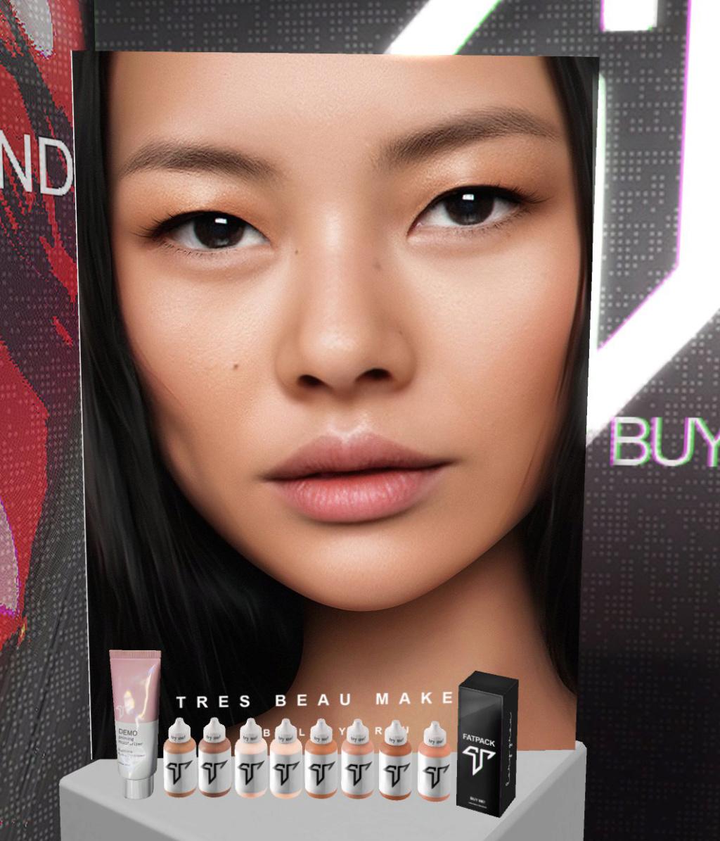 [Mixte] Tres beau makeup Zziod315