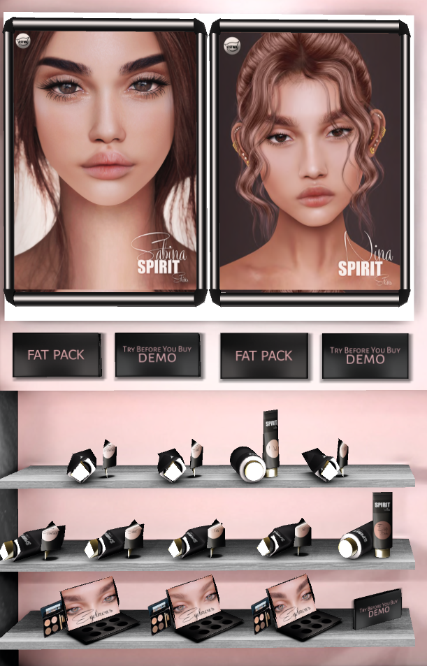 [Femme] Spirit skins Zzrifi17