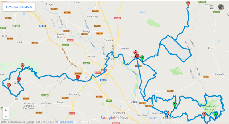 Ruta Yamaha Tricker MotoAventura Club Bardenas Reales Navarra del 28 al 31 de Marzo 2019 Proyec10
