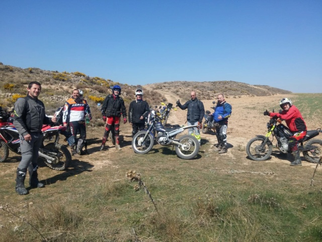 Ruta Yamaha Tricker MotoAventura Club Bardenas Reales Navarra del 28 al 31 de Marzo 2019 Whatsa42