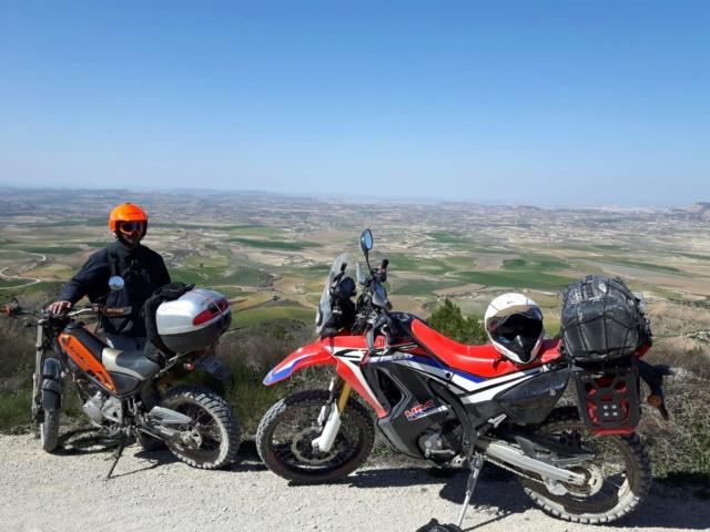 Ruta Yamaha Tricker MotoAventura Club Bardenas Reales Navarra del 28 al 31 de Marzo 2019 Whatsa47