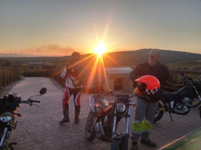 Ruta Yamaha Tricker MotoAventura Club Bardenas Reales Navarra del 28 al 31 de Marzo 2019 Whatsa48