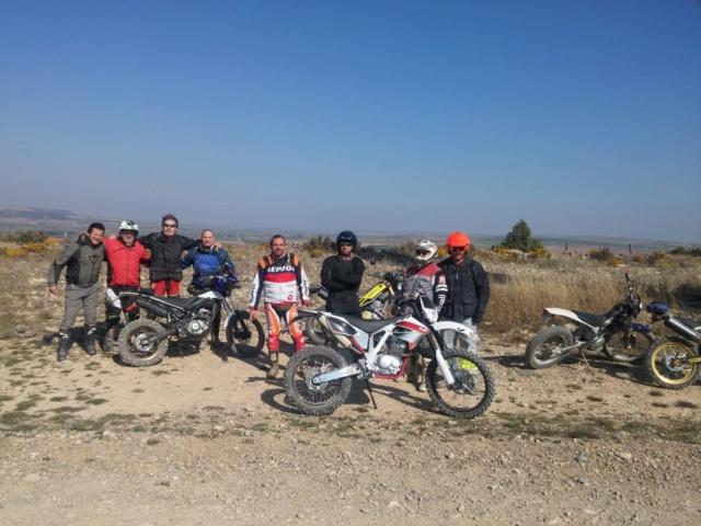 Ruta Yamaha Tricker MotoAventura Club Bardenas Reales Navarra del 28 al 31 de Marzo 2019 Whatsa50