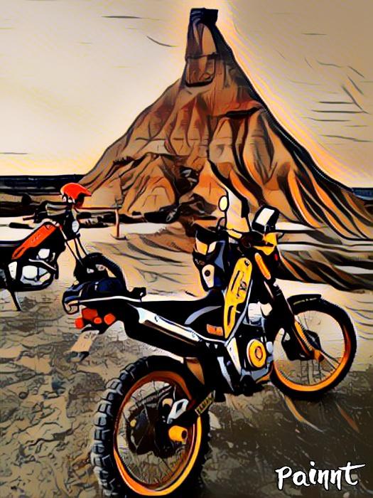 Ruta Yamaha Tricker MotoAventura Club Bardenas Reales Navarra del 28 al 31 de Marzo 2019 Whatsa51