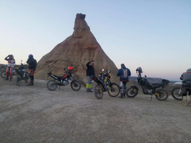 Ruta Yamaha Tricker MotoAventura Club Bardenas Reales Navarra del 28 al 31 de Marzo 2019 Whatsa53