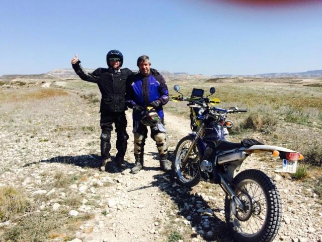 Ruta Yamaha Tricker MotoAventura Club Bardenas Reales Navarra del 28 al 31 de Marzo 2019 Whatsa54