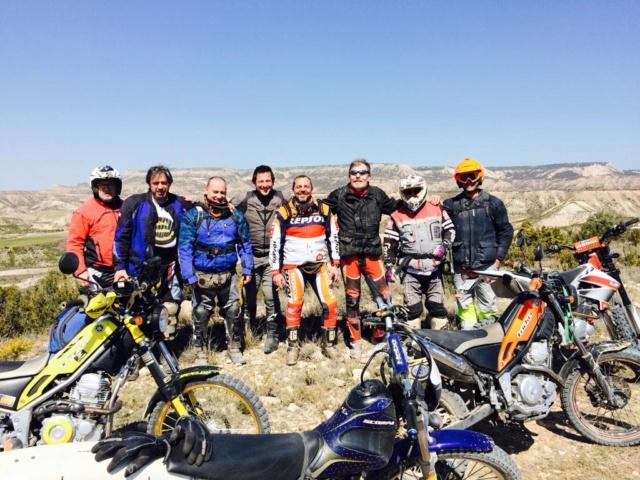 Ruta Yamaha Tricker MotoAventura Club Bardenas Reales Navarra del 28 al 31 de Marzo 2019 Whatsa55