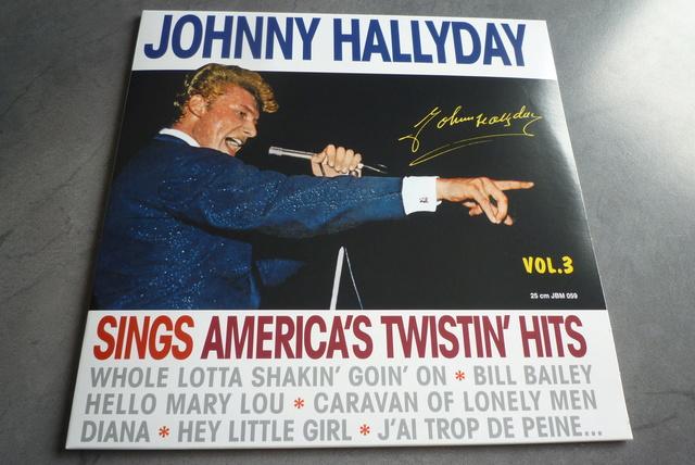 25CM JOHNNY SINGS AMERICA'S TWISTIN' HITS volume 3 de chez JBM P1590716