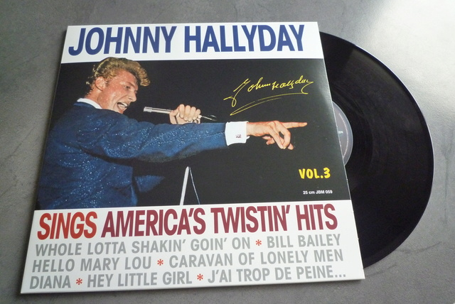 25CM JOHNNY SINGS AMERICA'S TWISTIN' HITS volume 3 de chez JBM P1590719