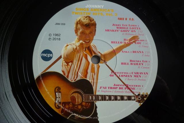 25CM JOHNNY SINGS AMERICA'S TWISTIN' HITS volume 3 de chez JBM P1590722
