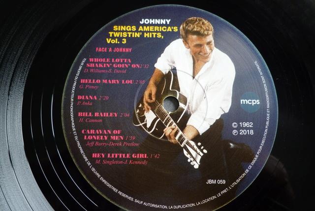 25CM JOHNNY SINGS AMERICA'S TWISTIN' HITS volume 3 de chez JBM P1590723