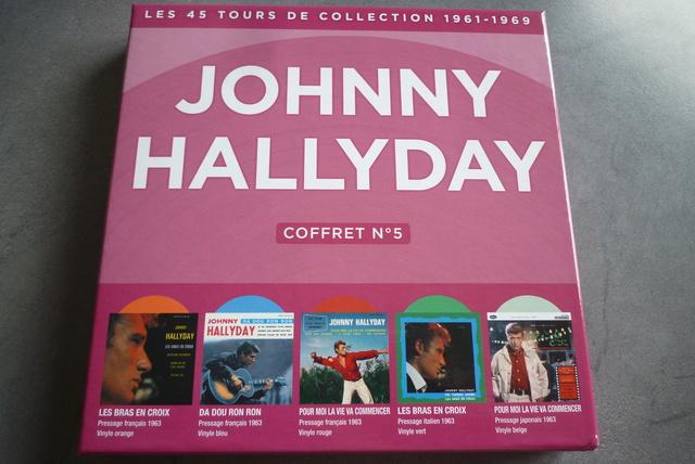 coffret n°5 des 45 tours de collection 1961-1969 édité par Polygram P1590819