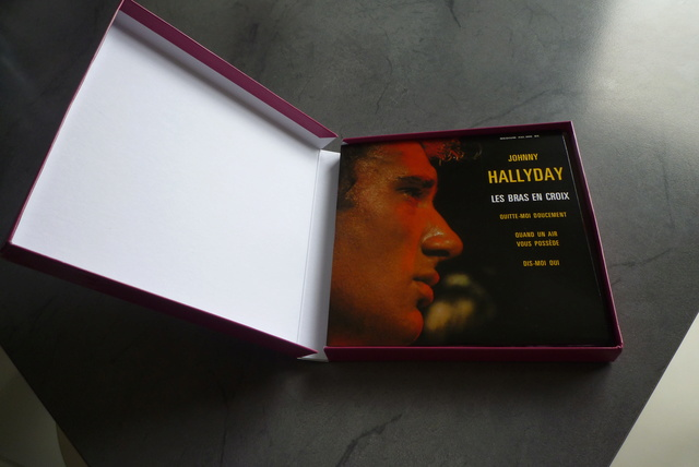 coffret n°5 des 45 tours de collection 1961-1969 édité par Polygram P1590821
