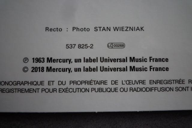 coffret n°5 des 45 tours de collection 1961-1969 édité par Polygram P1590823