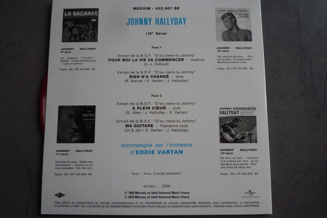 coffret n°5 des 45 tours de collection 1961-1969 édité par Polygram P1590838
