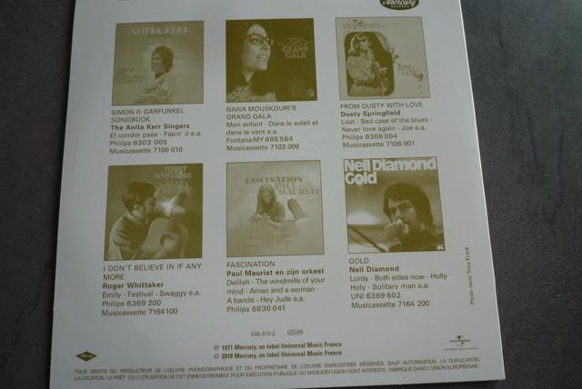 coffret n°5 des 45 tours de collection 1961-1969 édité par Polygram P1590860