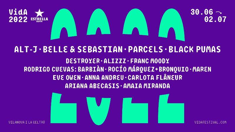 Vida Festival 2020 (Cut Copy, Belle & Sebastian, Angel Olsen, Black Pumas...) 13-07-10