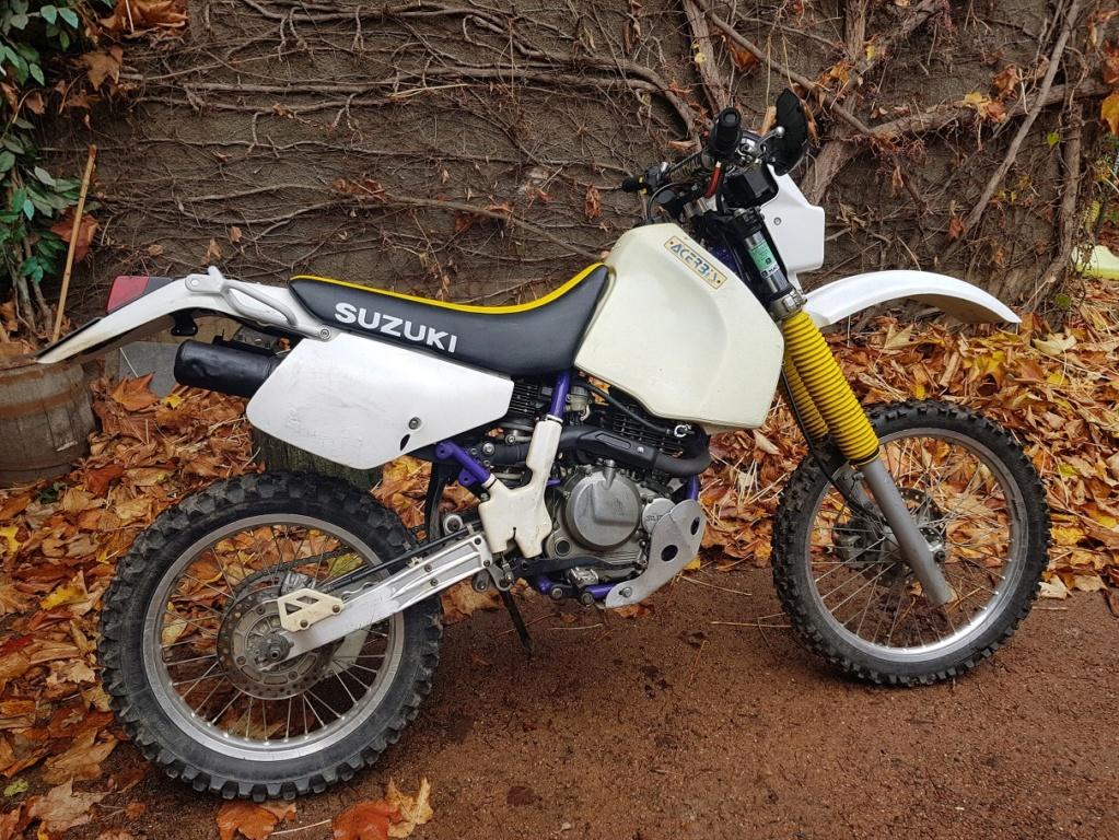vends Suzuki 350 DR SE 98 20181214