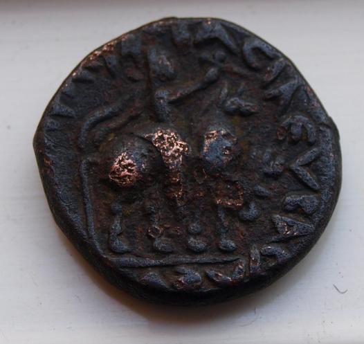 Tetradracma del Imperio Kushán, ceca Taxila. 25ut8a10
