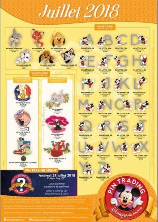 Le Pin Trading à Disneyland Paris - Page 20 36511010