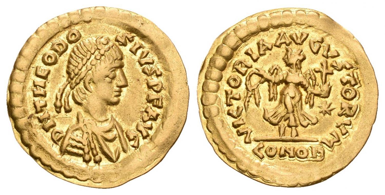 Faux moderne : Solidus de Constance II 41431610