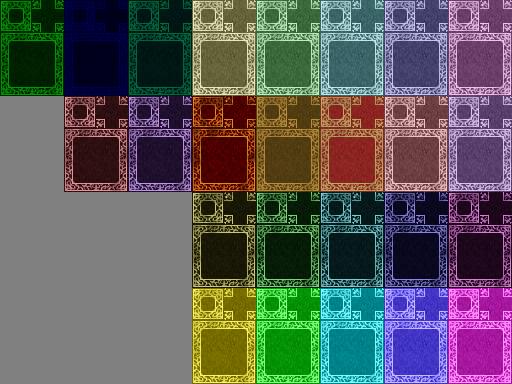 Tapis rouge (RTP) de plusieurs couleurs ! Tapis12