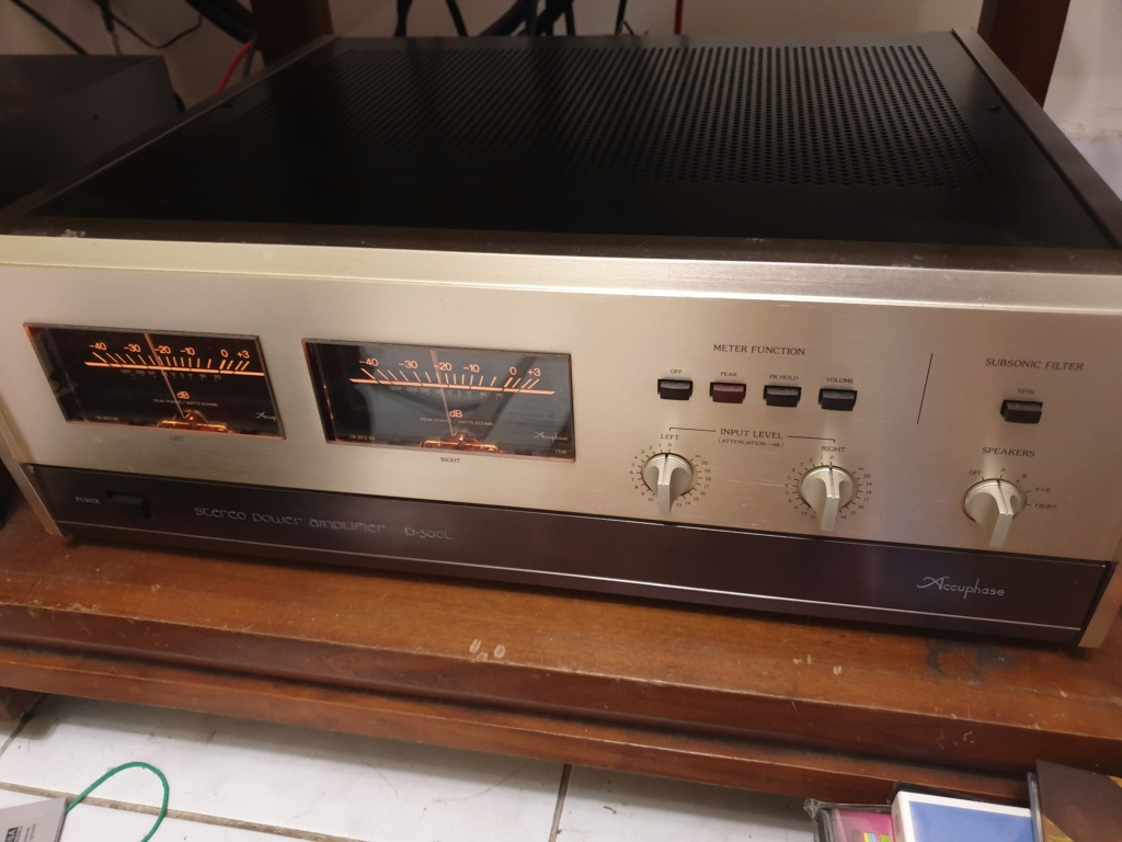 Accuphase C200L & P300L pre & Power Amp (Used) 20200310