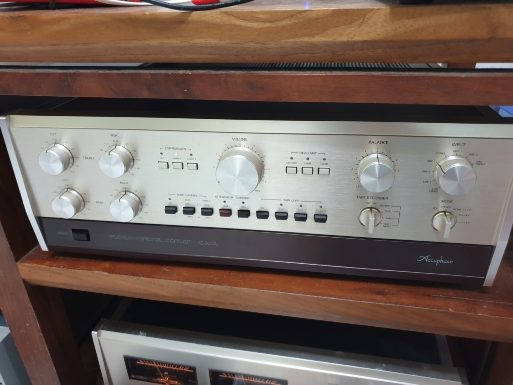 Accuphase C200L & P300L pre & Power Amp (Used) 20200311