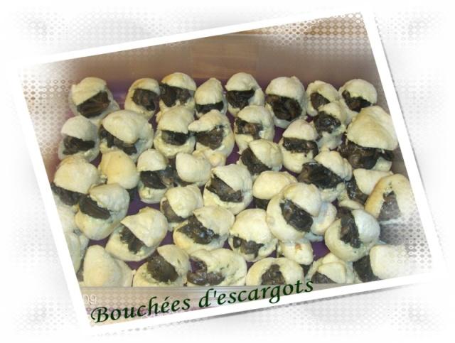 Petites bouchées à l'escargot à l'ail Boucha10