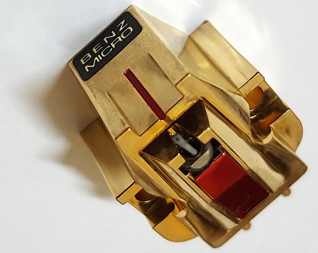 Sold - Benz Micro MC Gold MC cartridge (used) 20180510