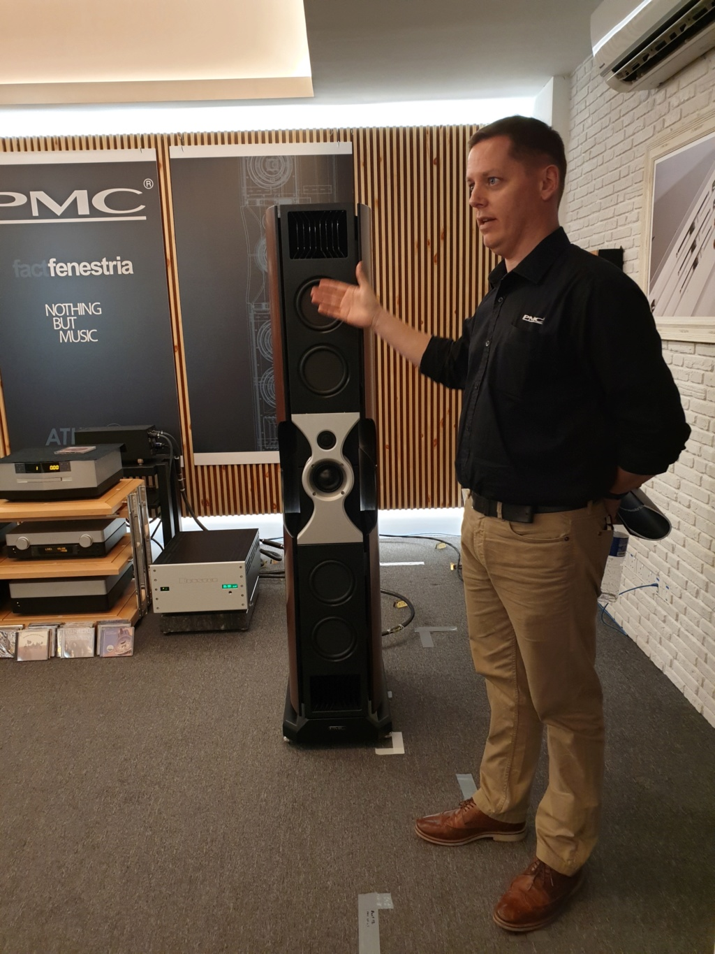 AV Designs launches PMC's high-end Fenestria loudspeakers in Malaysia 20181118