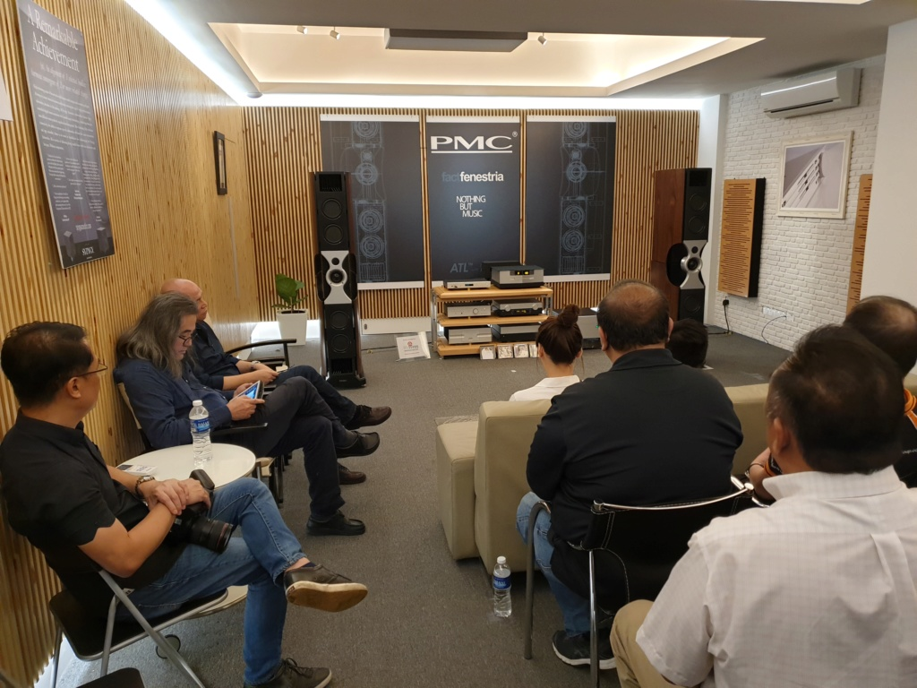 AV Designs launches PMC's high-end Fenestria loudspeakers in Malaysia 20181120