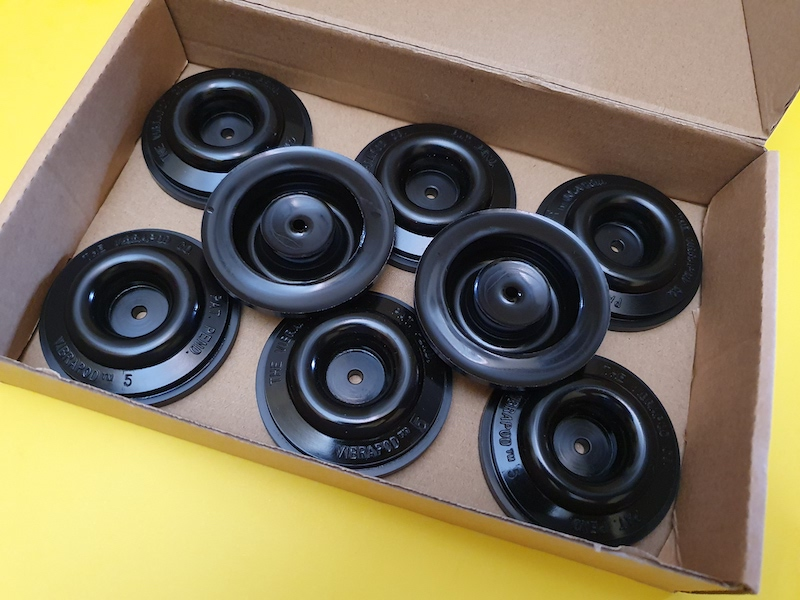 Vibrapod Model 5 isolators (used) SOLD 20210811