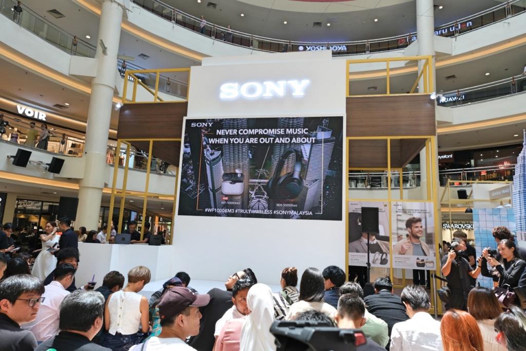 Sony Malaysia launches WF-1000XM3 wireless NC headphones Dscf0210
