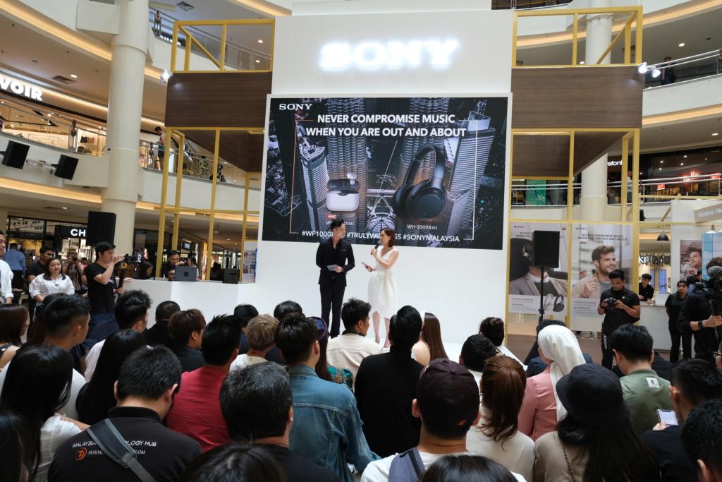 Sony Malaysia launches WF-1000XM3 wireless NC headphones Dscf0212