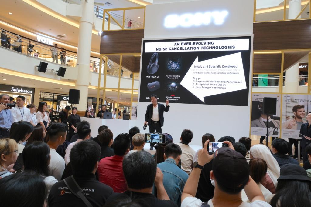Sony Malaysia launches WF-1000XM3 wireless NC headphones Dscf0213